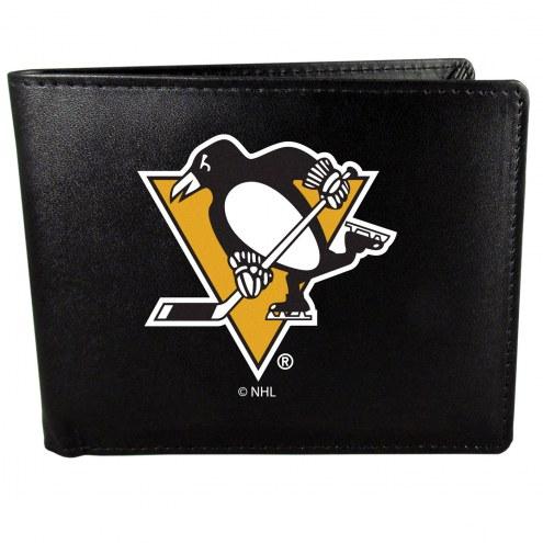 Pittsburgh Penguins Large Logo Bi-fold Wallet