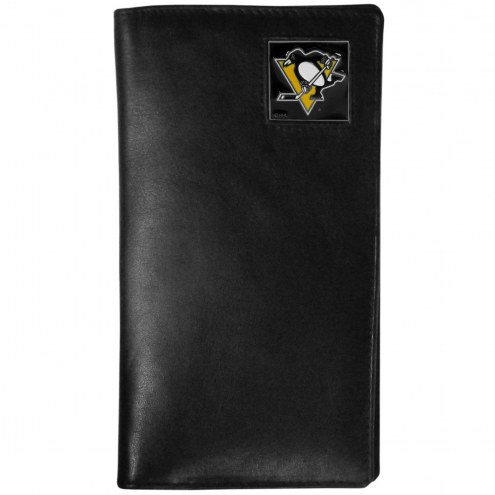 Pittsburgh Penguins Leather Tall Wallet