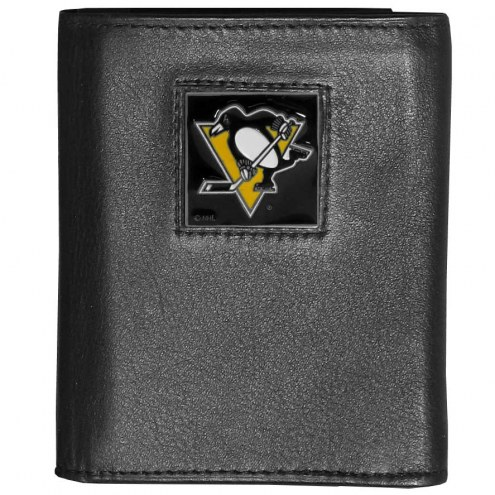 Pittsburgh Penguins Leather Tri-fold Wallet