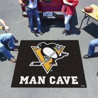 Pittsburgh Penguins Man Cave Tailgate Mat