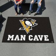 Pittsburgh Penguins Man Cave Ulti-Mat Rug