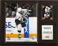 """Pittsburgh Penguins Mario Lemieux 12"""" x 15"""" Player Plaque"""
