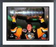 Pittsburgh Penguins Mario Lemieux 1991 Stanley Cup Finals Framed Photo