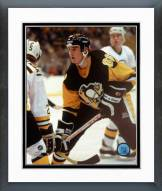 Pittsburgh Penguins Mario Lemieux First NHL Game 1984-85 Framed Photo