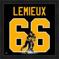 Pittsburgh Penguins Mario Lemieux Uniframe Framed Jersey Photo