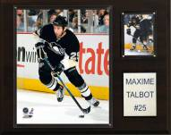 """Pittsburgh Penguins Maxime Talbot 12"""" x 15"""" Player Plaque"""