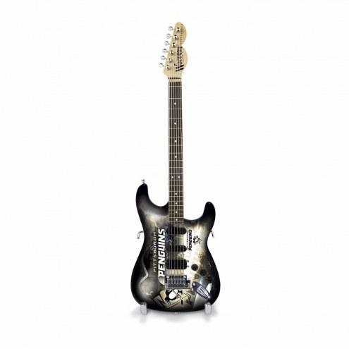 Pittsburgh Penguins Mini Collectible Guitar
