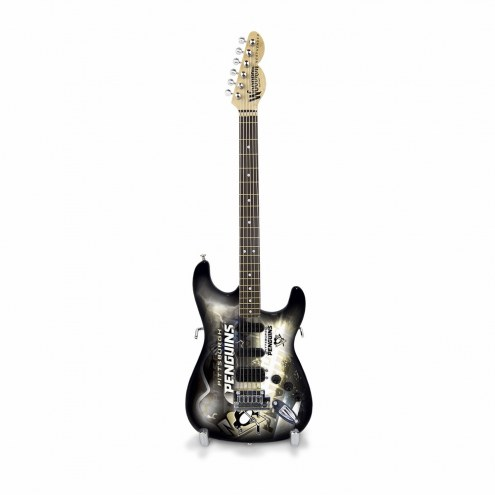 Pittsburgh Penguins Mini Collectible Guitar