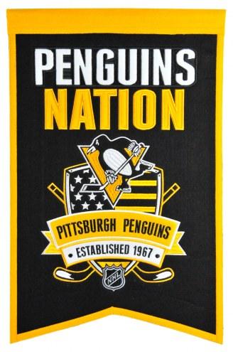 Pittsburgh Penguins Nations Banner