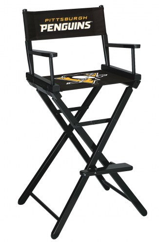 Pittsburgh Penguins Bar Height Director's Chair
