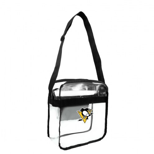 Pittsburgh Penguins NHL Clear Crossbody Carry-All Bag