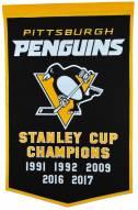 Pittsburgh Penguins NHL Dynasty Banner
