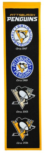 Pittsburgh Penguins NHL Heritage Banner
