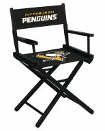 Pittsburgh Penguins Table Height Director's Chair