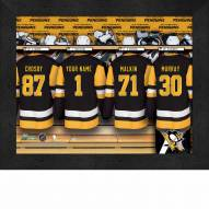 Pittsburgh Penguins Personalized 11 x 14 Framed Photograph