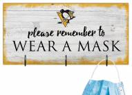 Pittsburgh Penguins Please Wear Your Mask Sign