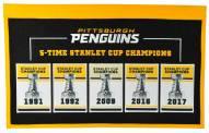 Pittsburgh Penguins Rafter Raiser Banner