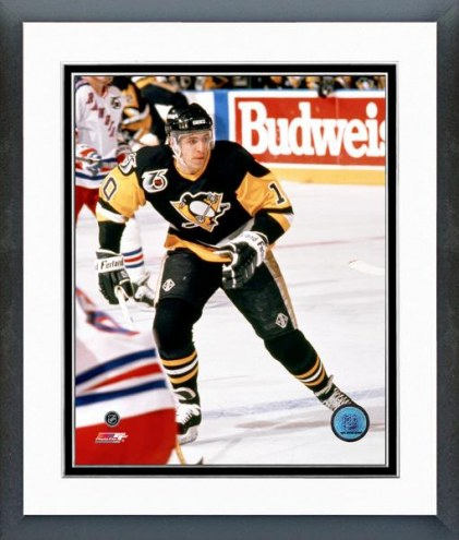 Pittsburgh Penguins Ron Francis Action Framed Photo