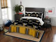 Pittsburgh Penguins Rotary Queen Bed in a Bag Set