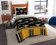 Pittsburgh Penguins Rotary Twin Bed in a Bag Set