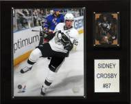 """Pittsburgh Penguins Sidney Crosby 12"""" x 15"""" Player Plaque"""
