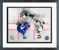 Pittsburgh Penguins Sidney Crosby Face-Off Framed Photo