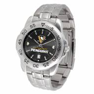 Pittsburgh Penguins Sport Steel AnoChrome Men's Watch