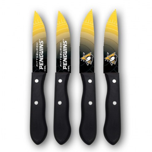 Pittsburgh Penguins Steak Knives