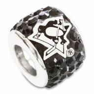 Pittsburgh Penguins Sterling Silver Charm Bead