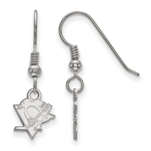 Pittsburgh Penguins Sterling Silver Extra Small Dangle Earrings