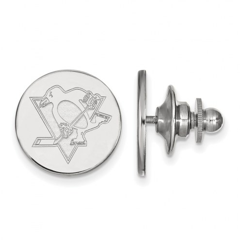 Pittsburgh Penguins Sterling Silver Lapel Pin