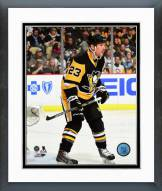 Pittsburgh Penguins Steve Downie Action Framed Photo