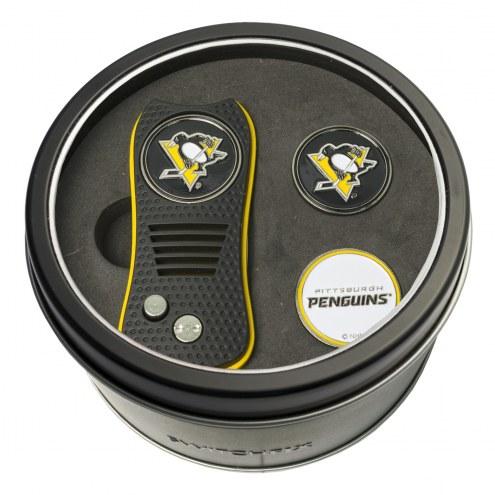 Pittsburgh Penguins Switchfix Golf Divot Tool & Ball Markers