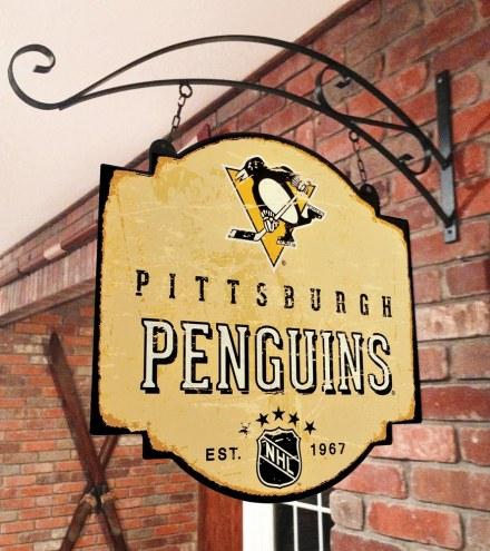 Pittsburgh Penguins Tavern Sign