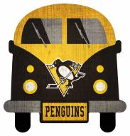 Pittsburgh Penguins Team Bus Sign