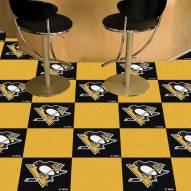Pittsburgh Penguins Team Carpet Tiles