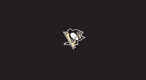 Pittsburgh Penguins NHL Team Logo Billiard Cloth