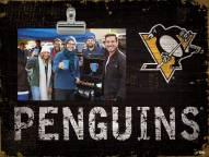 Pittsburgh Penguins Team Name Clip Frame