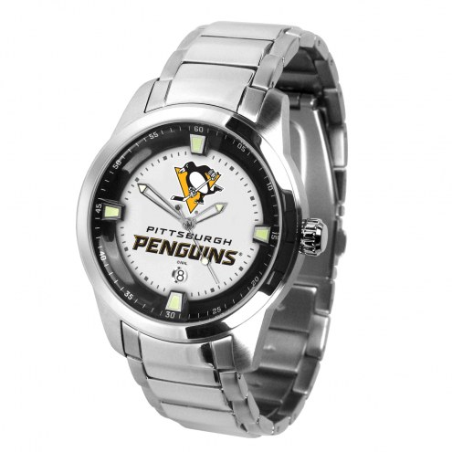 Pittsburgh Penguins Titan Steel Men's Watch