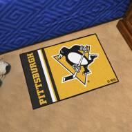 Pittsburgh Penguins Uniform Inspired Starter Rug