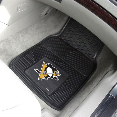 Pittsburgh Penguins Vinyl 2-Piece Car Floor Mats