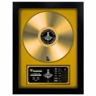 Pittsburgh Penguins Vinyl Gold Record
