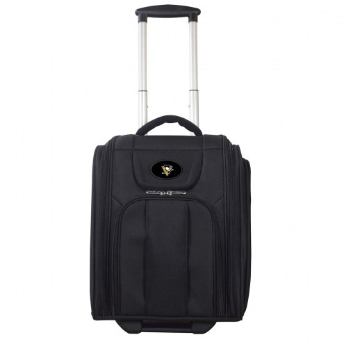 Pittsburgh Penguins Wheeled Business Tote Laptop Bag