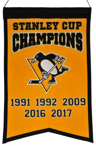 Pittsburgh Penguins Champs Banner