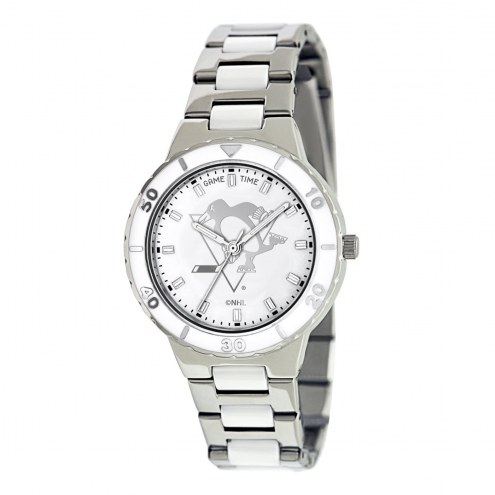 Pittsburgh Penguins Womens Pearl Watch