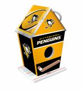 Pittsburgh Penguins Wood Birdhouse
