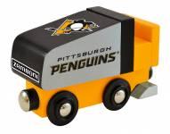 Pittsburgh Penguins Wood Zamboni Toy Train