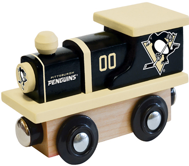 Pittsburgh Penguins Wooden Toy Train