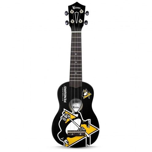 Pittsburgh Penguins Woodrow Denny Ukulele