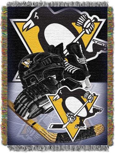 Pittsburgh Penguins Woven Tapestry Throw Blanket